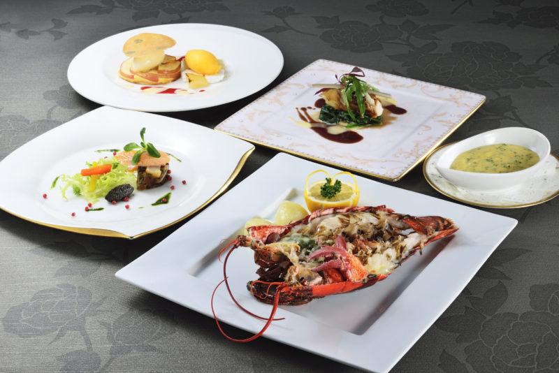 海の恵みディナー