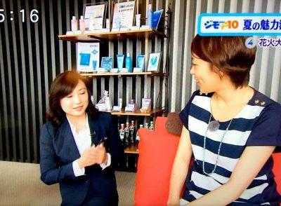 静岡朝日テレビ「とびっきり!しずおか」にて花火鑑賞プランが紹介されました!