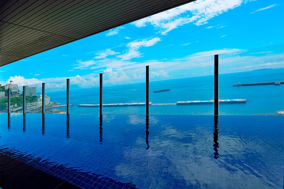 温泉~日の出を一望|熱海温泉 ホテルミクラス